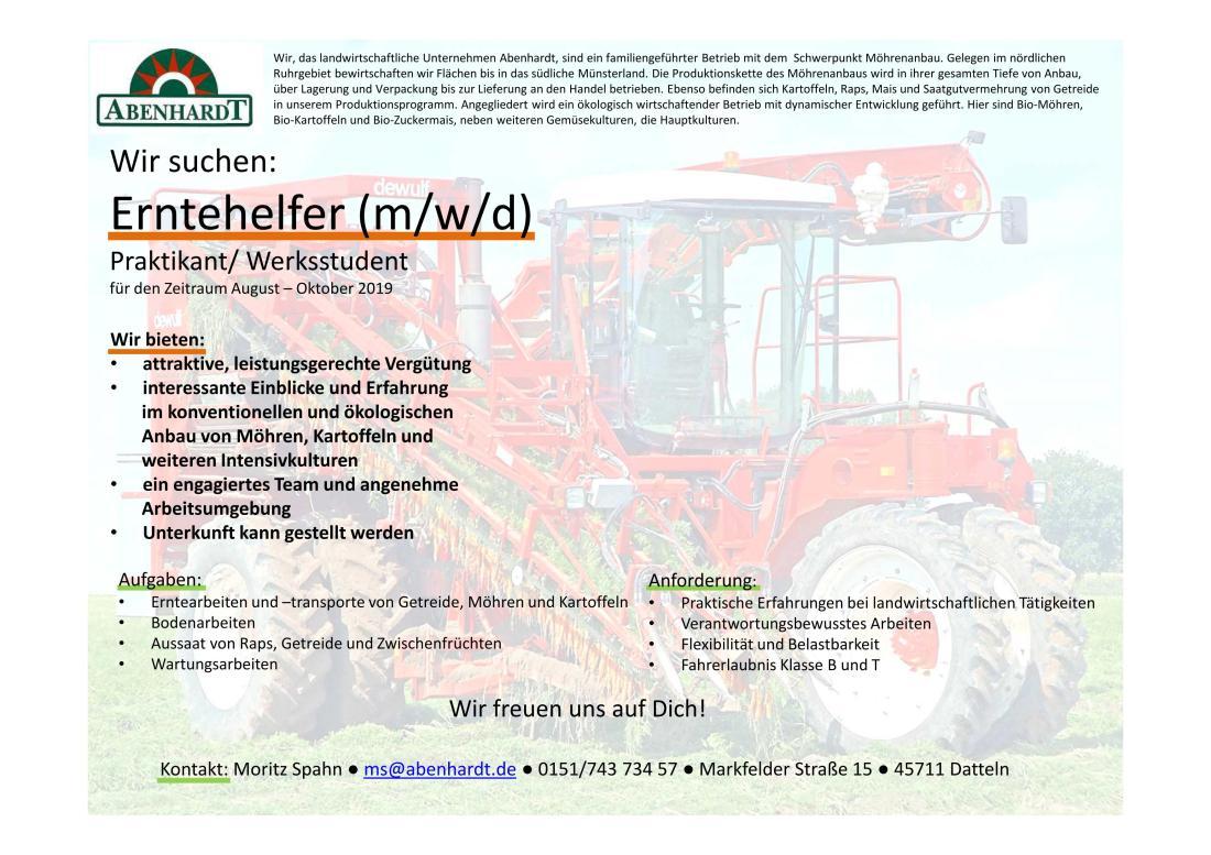 Abenhardt GmbH & Co_Stellenausschreibung_Erntehelfer_2019_01